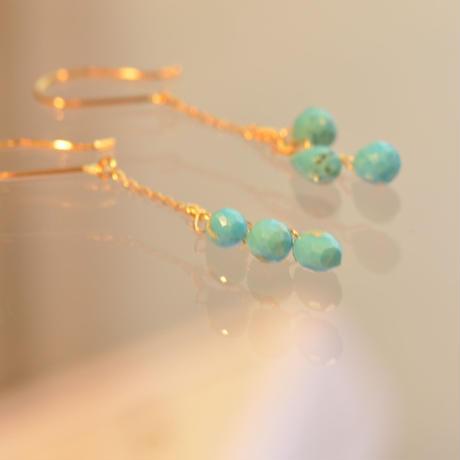 Turquoise pierce (SNP-075-SB-F)
