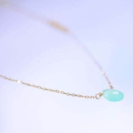 chrysoprase necklace (SNN-037Chryso)