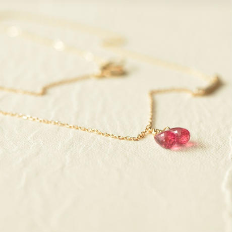 Pink Tourmaline Necklace  (SNN-061TR)