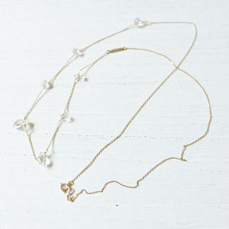 Herkimer Diamond long Necklace (SNN-066HD)