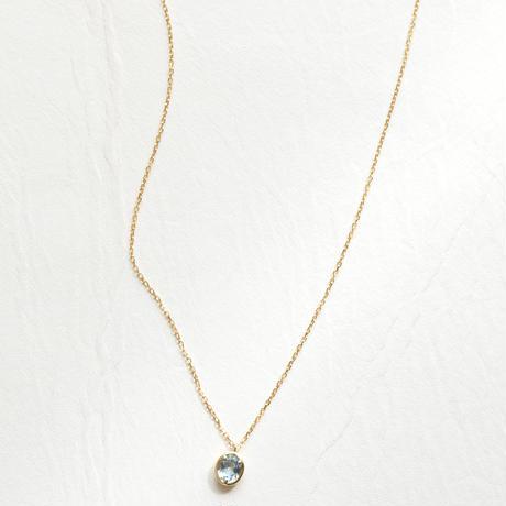 Aquamarine Necklace (SNN-073AQ)