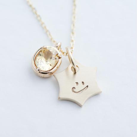 KATACHI+sapphire Necklace (KATACHI-A-K10)