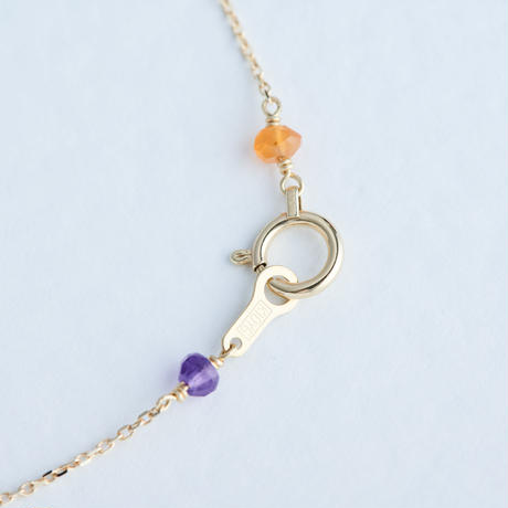 Rainbow Bracelet (SNB-021×7) K10YG