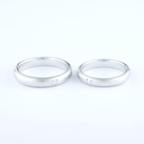 Order Made Marriage Ring (NS-010A-PT950)