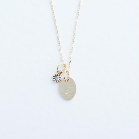 KATACHI+Aquamarine Necklace (KATACHI-D-K10)