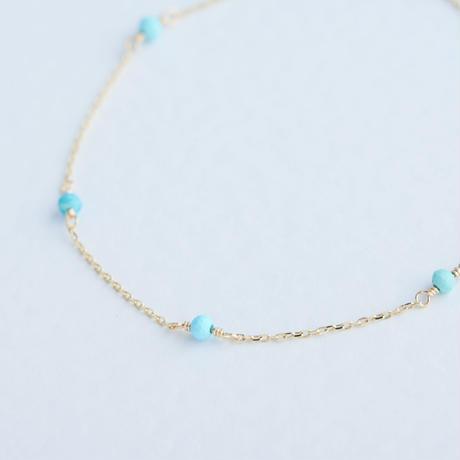 Turquoise Bracelet (SNB-010-B)K10YG
