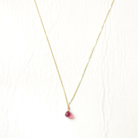 Ruby Necklace (SNN-RU-Lim-03 K18YG)