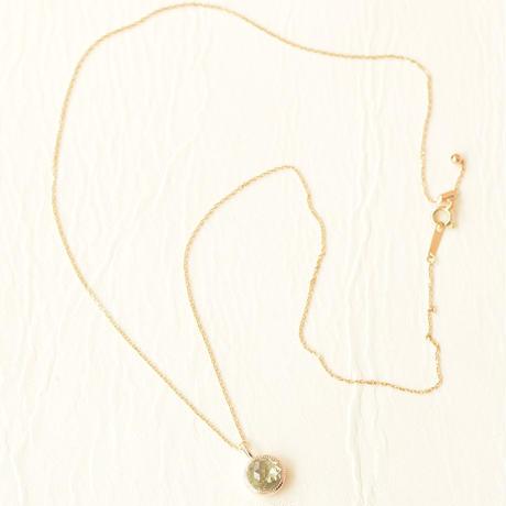Green quartz Necklace (SNN-057GQ)