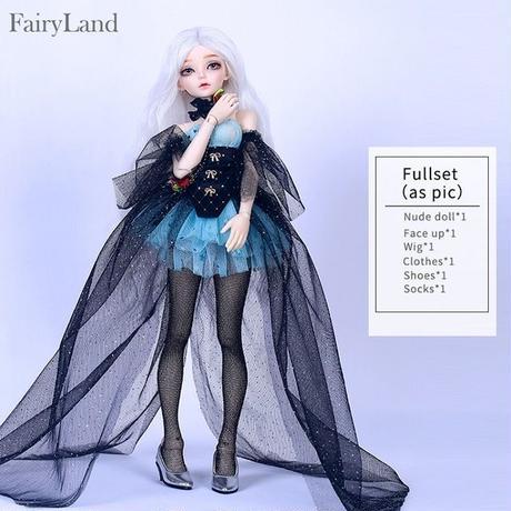 球体関節人形  BJD カスタムドール  1/4  Fairyline Ria フルセット Human Version