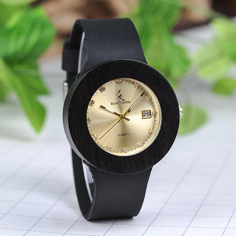 BOBO BIRD  木製時計  レディースウォッチ  クォーツ   カレンダー