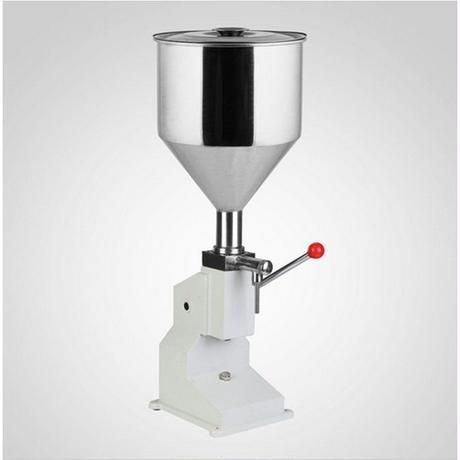 卓上型 クリーム/液体充填機 ハンドフィラー 空気圧式 本格的 小分け ジャム オイル 瓶詰 手動