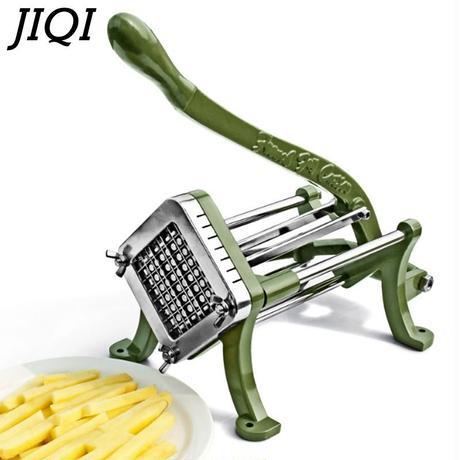 ポテトチップス製造機 チップポテト食品ニンジン キュウリ切断機 フライドポテト