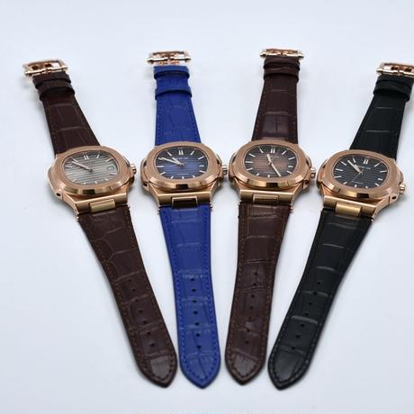 PETER LEE  クラシック機械式 腕時計 レザーストラップ
