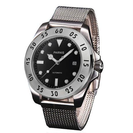 Parnis(パーニス ) メンズ 機械式腕時計 防水 ステンレス銅