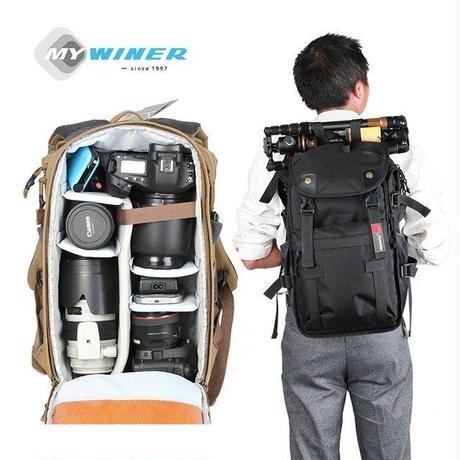 カメラバッグ  カバン ビデオバッグ  旅行 バックパック 防水  ワイナー  ローバー65 WINER Rover65