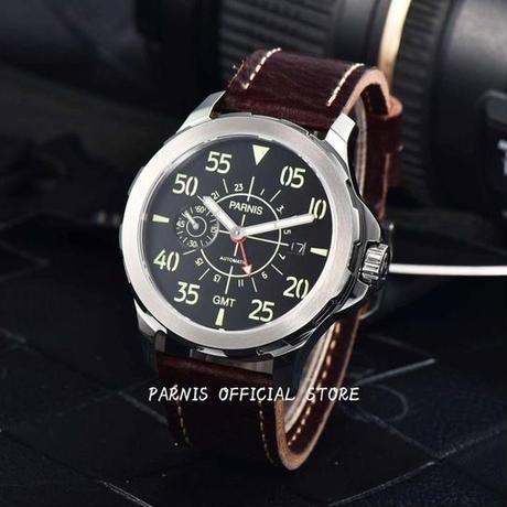 Parnis(パーニス ) メンズ 機械式腕時計 防水 カジュアル