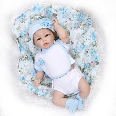 リボーンドール  乳児  赤ちゃん人形 男の子 ベビー人形 ベビードール リアル ハンドメイド フルシリコンビニール