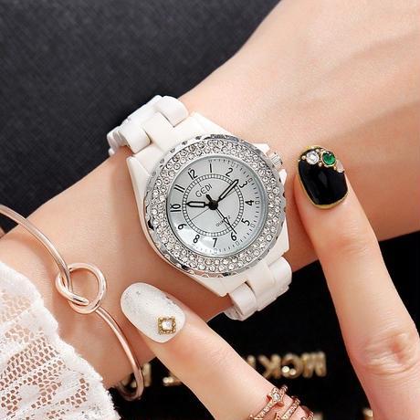 Gedi  レディース 腕時計 セラミック