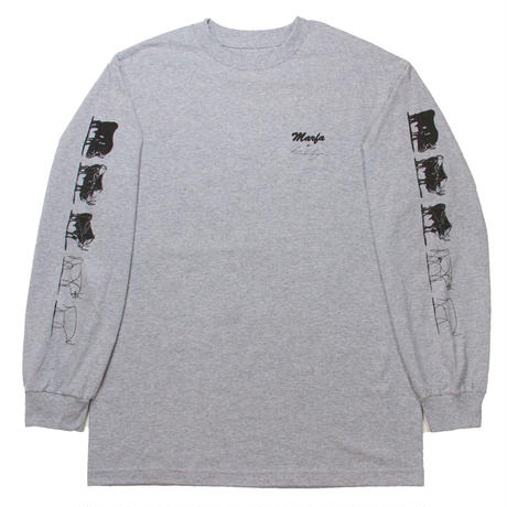 The Bull L/S Heather, White