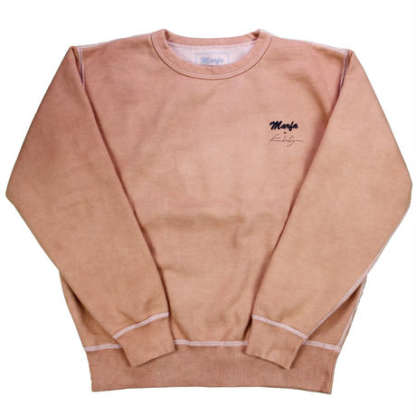 Marfa Titled Sweatshirt Dyed Tangerine JJJ Exclusive