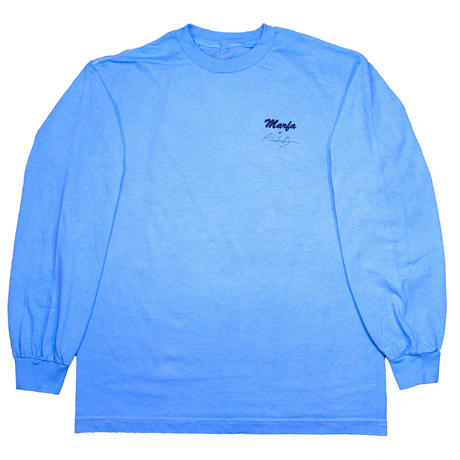 Marfa Titled L/S  Dyed Tronto Blue
