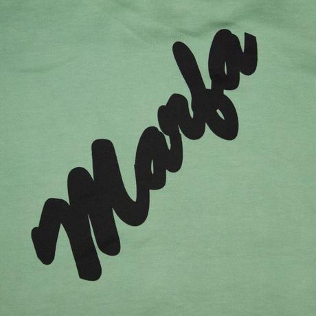 Marfa Titled Hoodie Dyed Davis Green