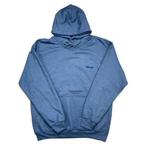 Marfa Titled Hoodie Indigo Blue
