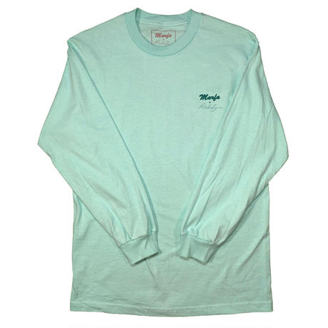 Marfa Titled L/S Mint, White
