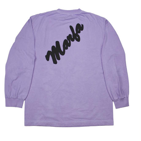 Marfa Titled L/S  Dyed Holo Violet