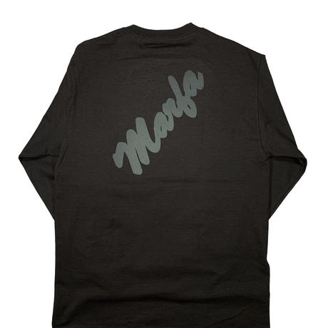 Marfa Titled L/S Black Reflection