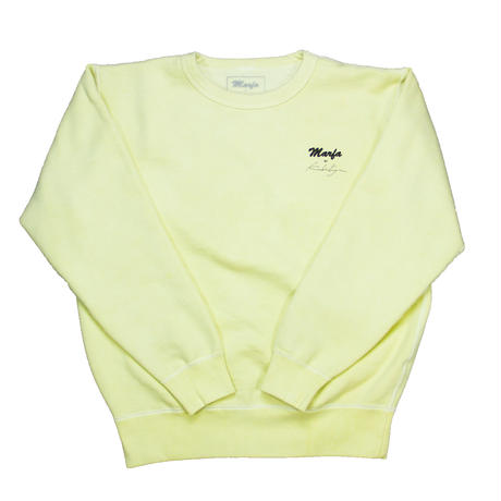 Marfa Titled Sweatshirt Dyed Ferg Yellow