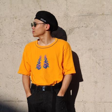 """古着 """"UNIQLO"""" 青龍Tシャツ"""