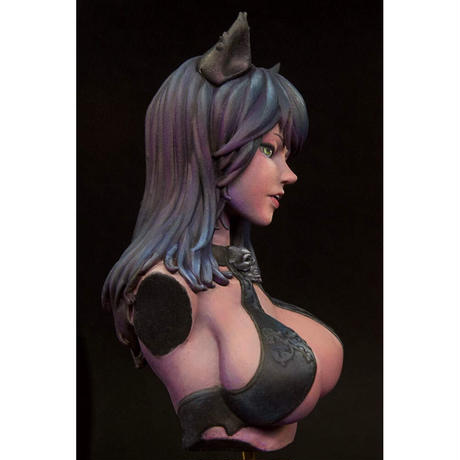 BLACK CAT OF THE DEATH BUST
