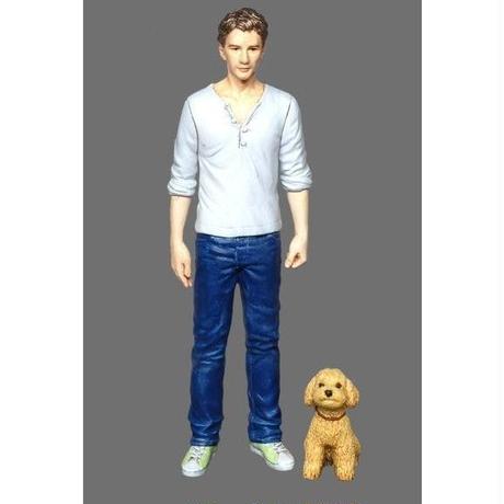 1/35 A man & a dog