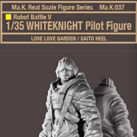 "1/35 ""WHITEKNIGHT"" Pilot Figure"