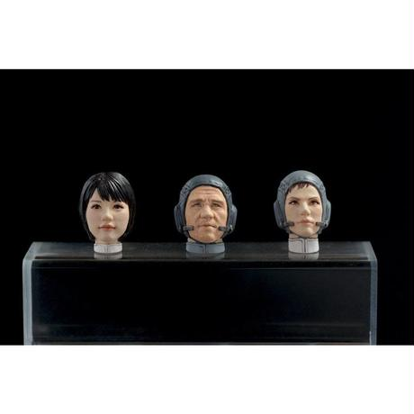 MERCENARY TROOPS MALE&FEMALE HEAD PART SPACE TYPE