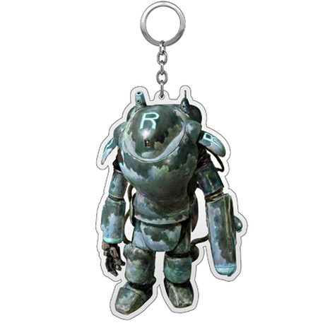 Kow yokoyama  Maschinen Krieger exhibition  Key chain TYPE:A