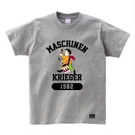 """Ma.K Tシャツ """"オスカル"""" 杢グレー(HEATHER GRAY)"""