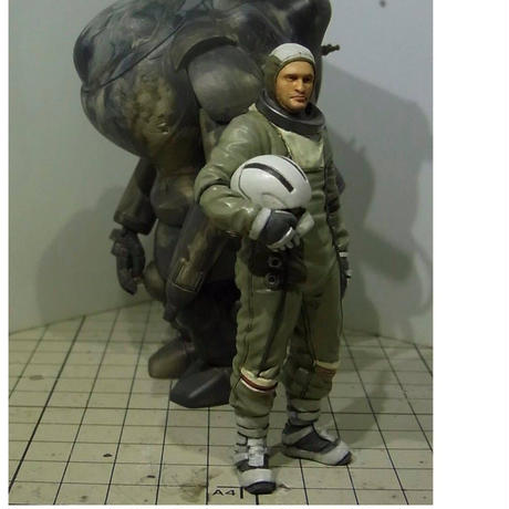 『限定再生産 Limited Reproduction』 FIREBALL Pilot Figure