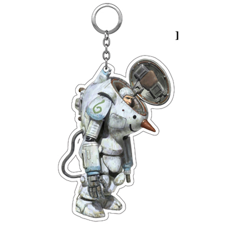 Kow yokoyama  Maschinen Krieger exhibition  Key chain TYPE:B