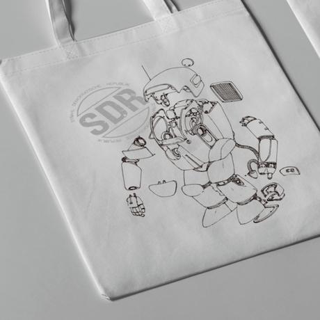 【送料無料】Kow yokoyama  Maschinen Krieger exhibition  Tote bag TYPE:B