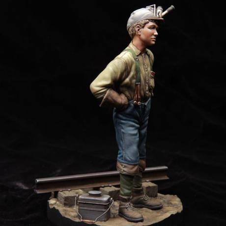 1/24 Tipple boy   炭鉱の少年