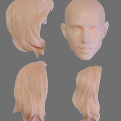 1/6  W-08 HEAD MODEL