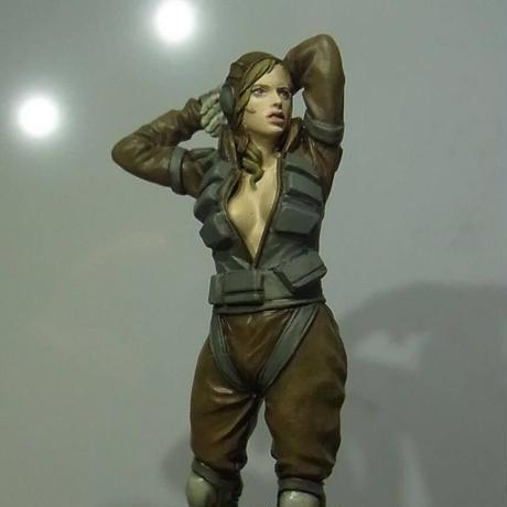 『限定再生産 Limited Reproduction』MK44 Female Pilot Figure