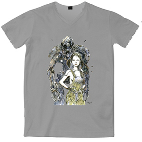 【送料無料】Kow yokoyama  Maschinen Krieger exhibition T-shirt TYPE:C
