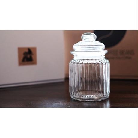 保存に便利! レトロ風な小さなグラスジャープチ