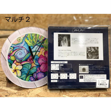 Colleen wilcox コラボ サークルクロック 時計