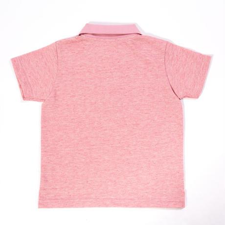 オーガニックコットンポロシャツ(ピンク)