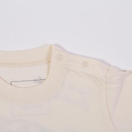 オーガニックコットンTシャツ(オフホワイト)