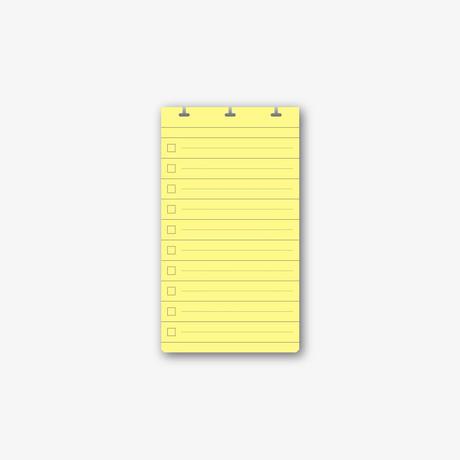 UPWARD NOTE - D3 LIST CARD*